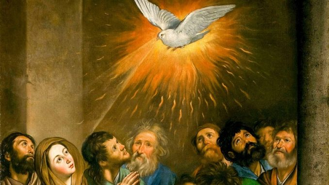 Pentecost & the Sacraments of Initiation