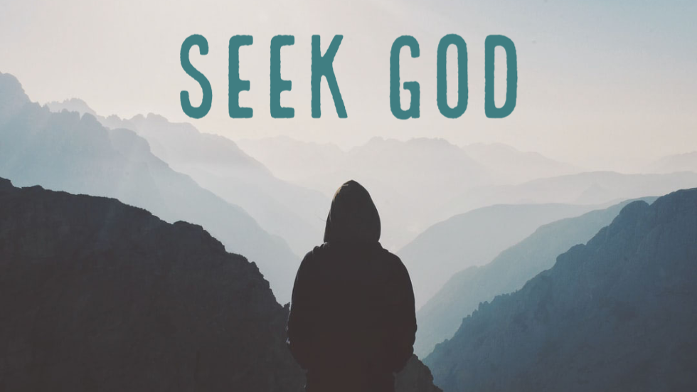 Seek God Where He May be Found