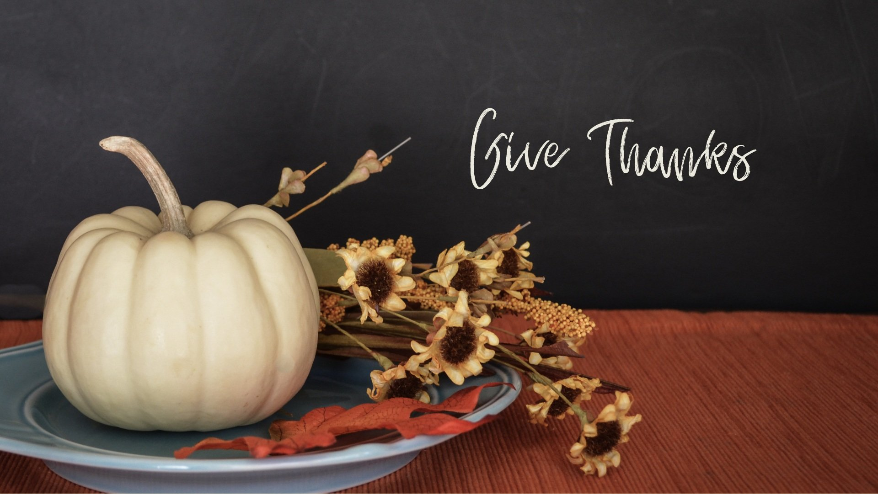 Giving Thanks in Times of Trouble