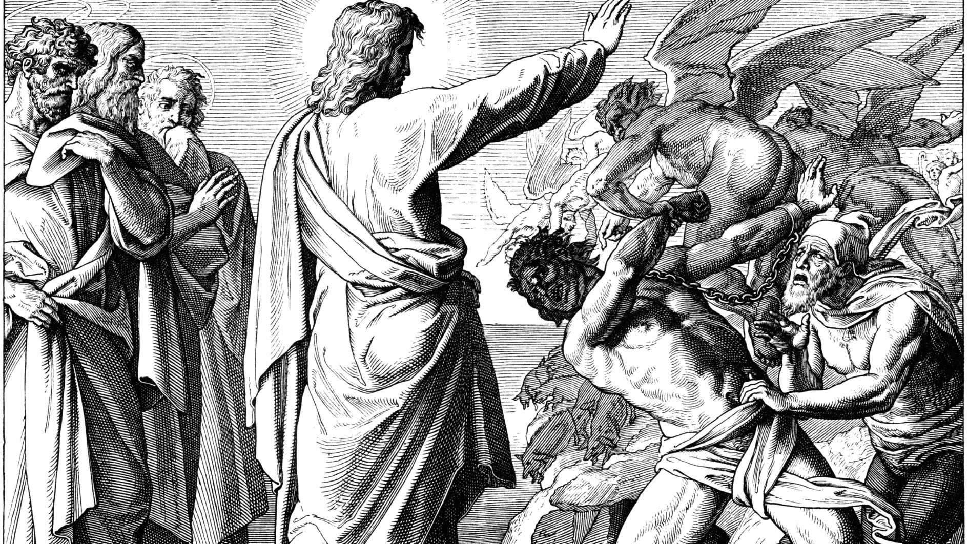 Minute Homily: Don't Be Like the Demon!